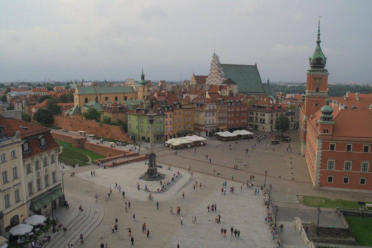Spacer po Warszawie