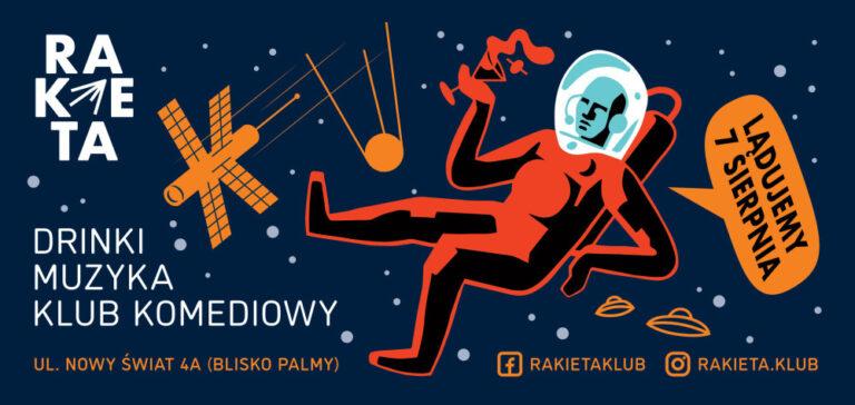 Rakieta Klub – nowe miejsce na rozrywkowej mapie Warszawy